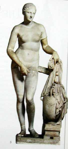 프락시텔레스 작, '크니더스의 아프로디테', 그리이스