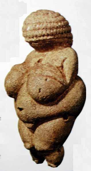 빌렌도르프의 비너스, 20000BC, 석회암